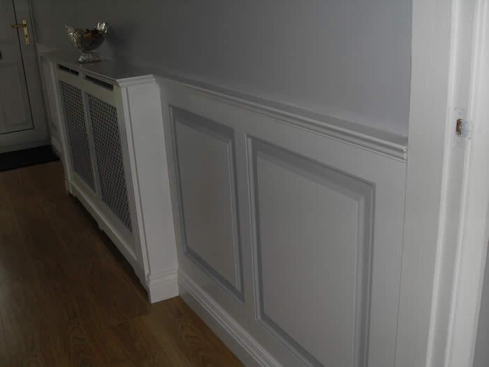 entrance halls wall panelling wall panelling for entrance. Black Bedroom Furniture Sets. Home Design Ideas