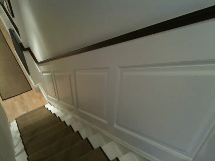 mdf wall panels  made for almorah road london by wall panelling experts