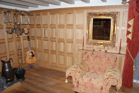 oak wall panelling staffordshire