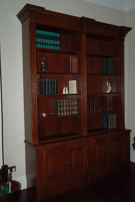 bookcase by wall panelling experts bookcases oak by wall panelling experts made in the uk