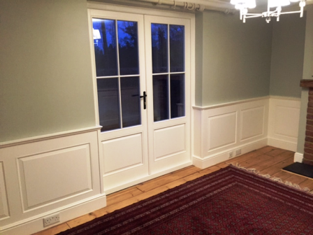 wall panelling for living room or dining room