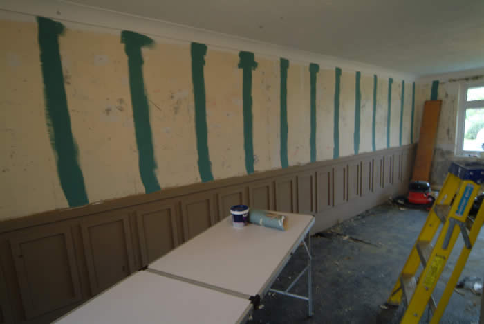 wall panelling  ideas by wall  panelling experts for sky TV and Ty Pennington homes for the brave