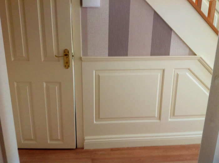 georgian entrance hall wall panelling by wall panelling experts