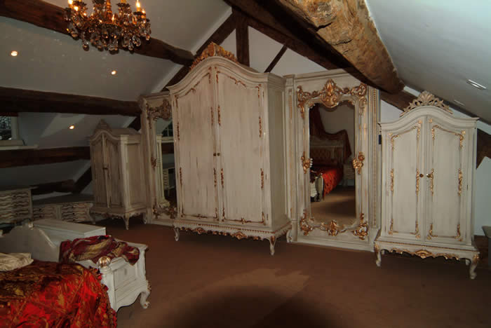 french bedroom furniture by wall panelling ltd