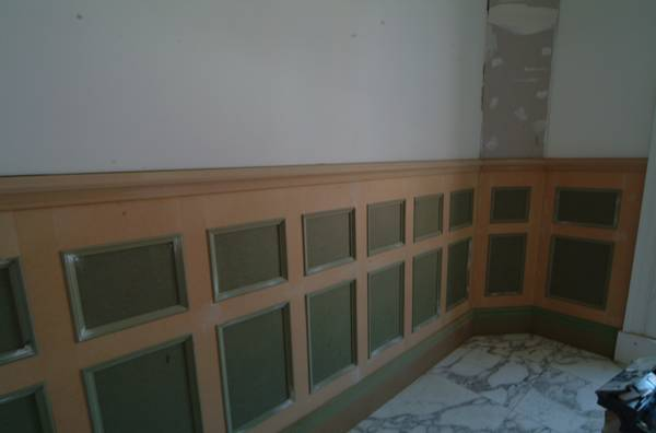 bathroom wall panelling  for Colin & Justin from wall panelling fitting wall panelling with the wall panelling experts