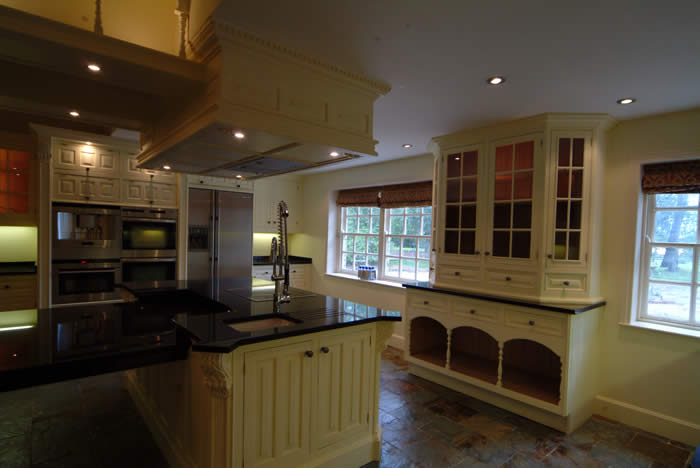 hand made kitchens by wall panelling ltd