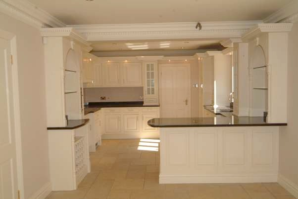 hand made kitchen by wall panelling ltd