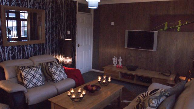 walnut wall panelling for itv1 60mm linda barker made by wall panelling experts