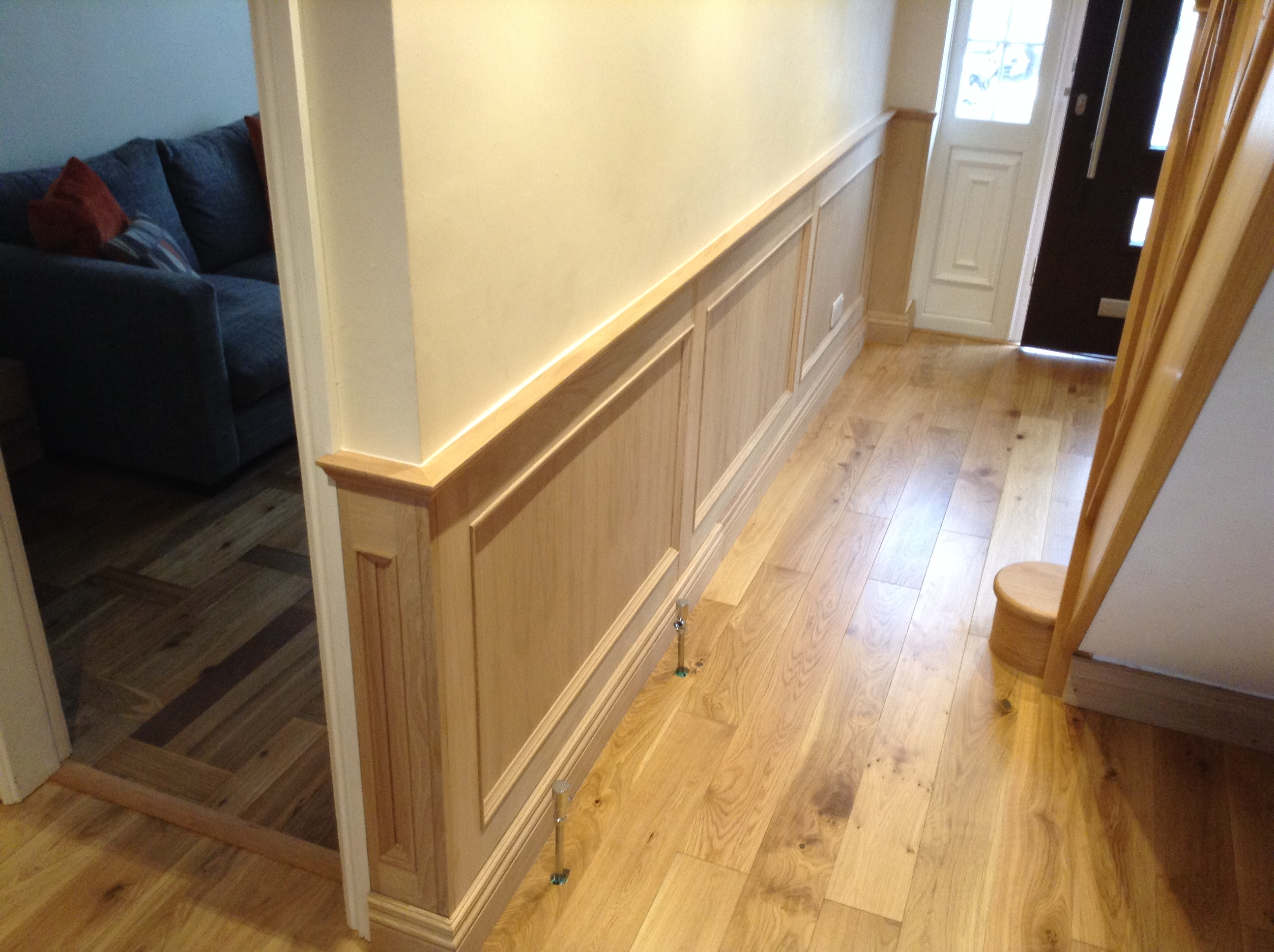 Oak wall panelling decorative wood panelling wall panelling experts Bathroom designs wood paneling