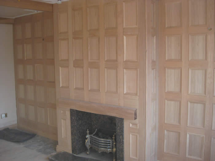 oak wall panelling fireplace wall panelling experts