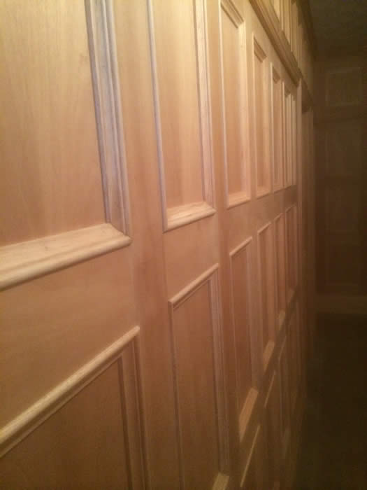 oak panelling by the wall panelling experts