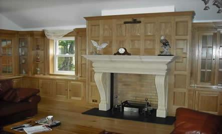 oak wall panelling Guernsey