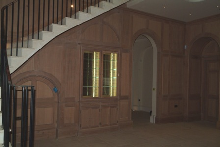 oak wall panelling by wall panelling ltd