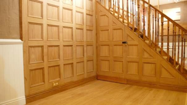 oak wall panelling decorative wood panelling wall. Black Bedroom Furniture Sets. Home Design Ideas