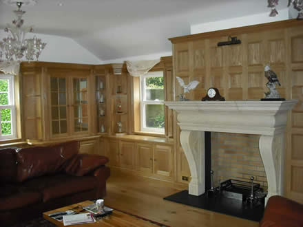 made to measure oak bookcases by wall panelling bookcases oak by wall panelling experts made in the uk