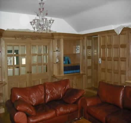 oak wall panelling geurnsey