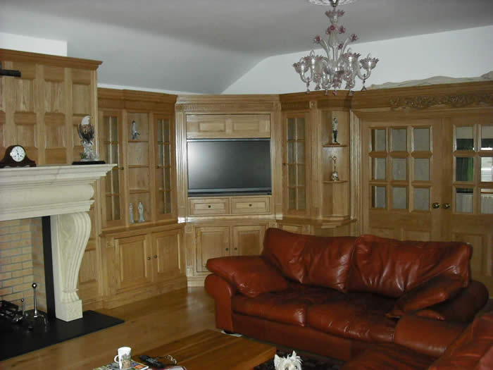 Oak Wall Panelling By Made In The Uk