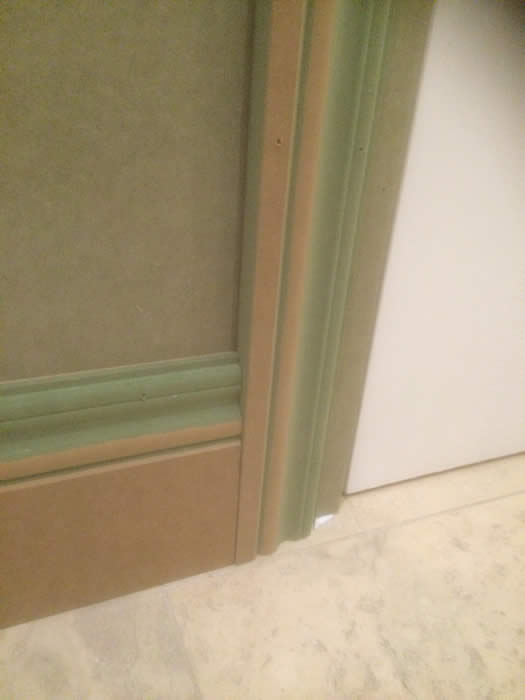 our ogee skiritng with matching architraves by the wall panellng experts