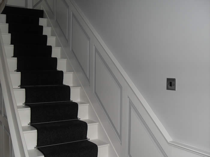 georgian hallway panelling made in the uk by wall panelling experts