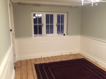 wall panelling for dining rooms
