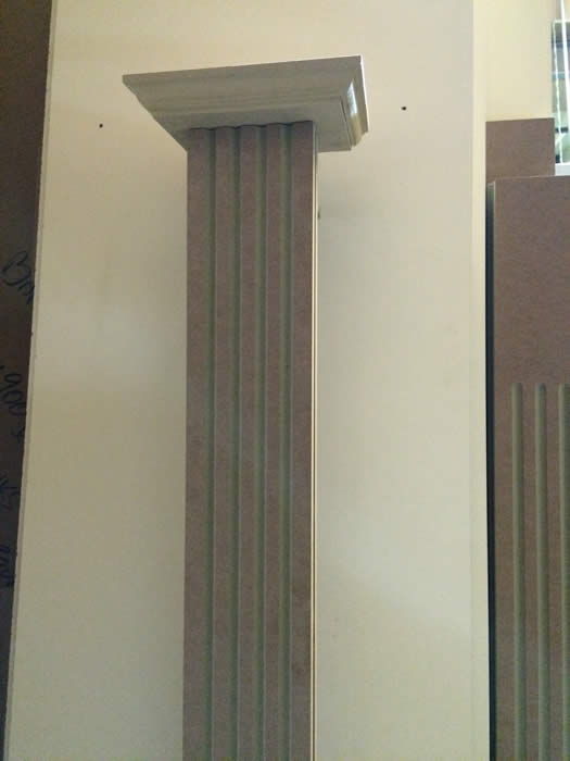pillars by wall panelling experts