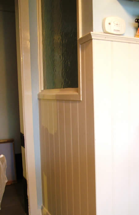 read and bead wall panelling