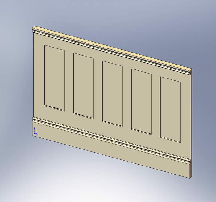 shaker panels  by wall panelling ltd