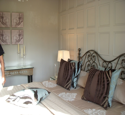 bedroom wall panelling ITV1 60mm scott waldron british made
