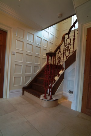 entrance hall wall panelling southport
