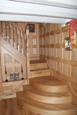 oak wall panels staffordshire