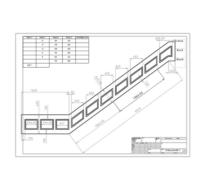 wiring diagram for staircase