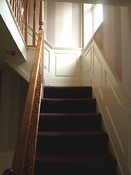 georgian panelling for staircases