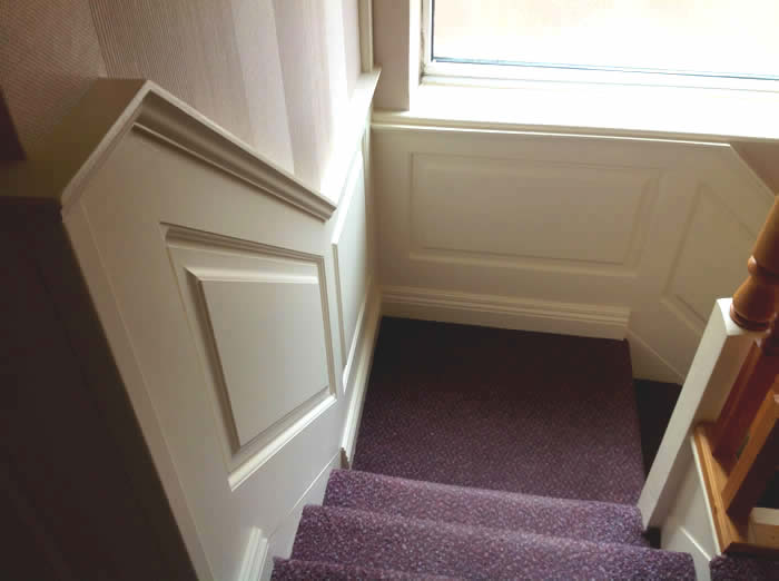 stairs panelling by experts
