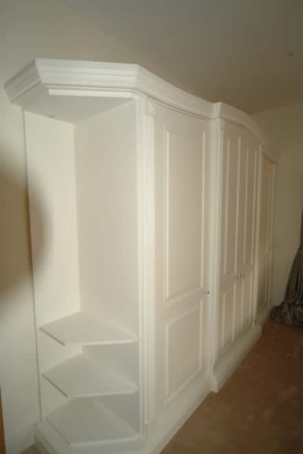 bespoke wardrobes by wall panelling cheshire