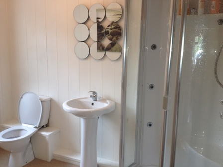 tongue and groove panelling for bathrooms tongue and groove panelling at The secret Garden tenby south wales holiday cottage  with sykes cottages
