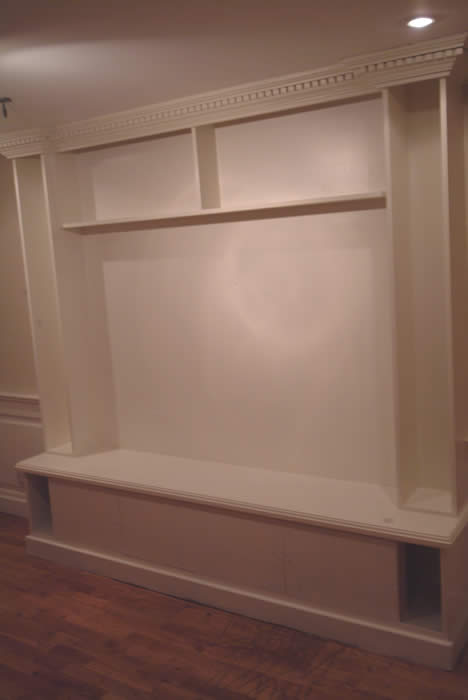 media surround hand made by wall panelling hmh