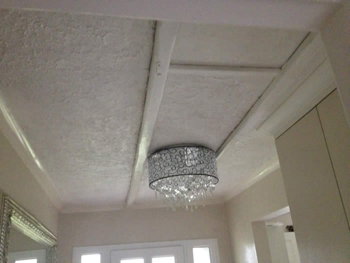 unsightly ceiling