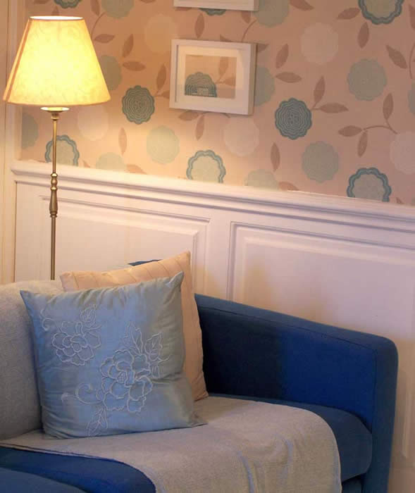 Great Small Living Room Designs By Colin Justin: Living Room MDF Wall Panelling
