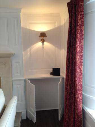 wall panelling designs london