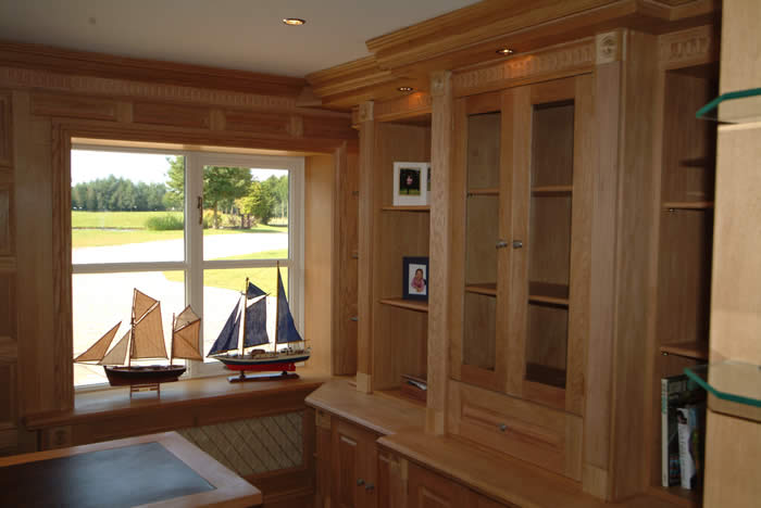 oak wall panelling made in the uk by wall panelling experts for cheshire neville and charmain
