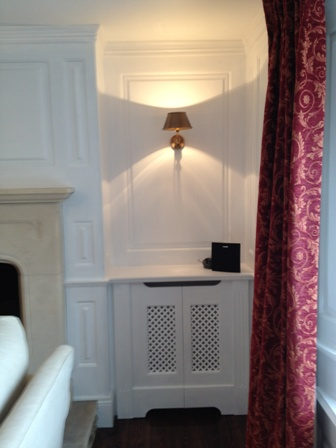 wall panelling location london
