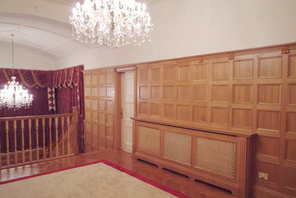 oak wall panelling | decorative wood panelling | wall panelling