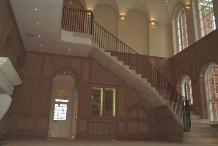 staircase wall panelling experts made in the uk forest de bere hampshire