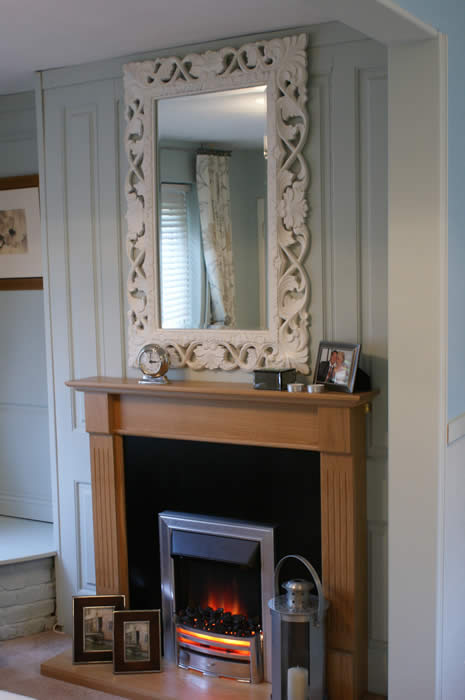 wall panelling over a fireplace from wall panelling wall panelling itv1 60mm derek taylor made by wall panelling experts in the uk