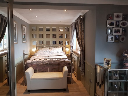 mirrored wall panelling made in great briton