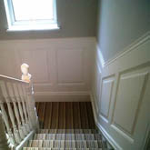 Staircase georgian panelling made in Britain