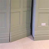 secret panelled door made in britain for a home in London by wall panelling experts
