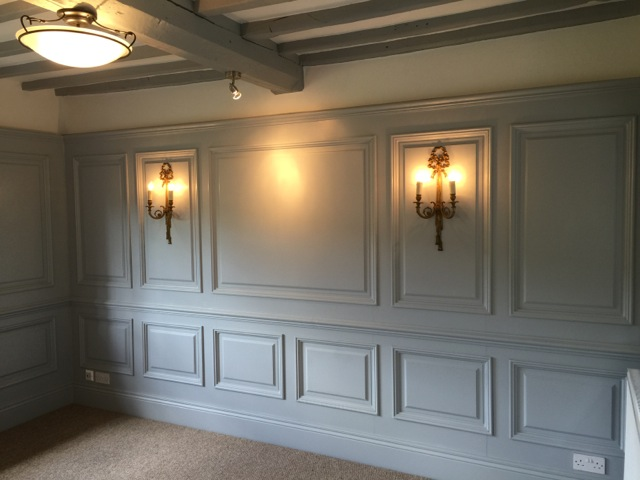 Wall panelling experts wall panelling designs around the uk for Living room paneling designs